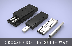 crossed roller guide way